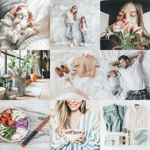 PRO LIGHT & MINIMAL | RAW preset by Maxine Stevens