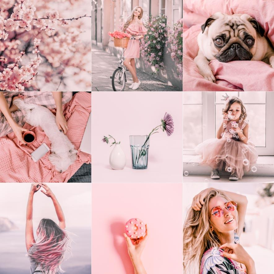 PINK FLAVOUR | preset by Maxine Stevens