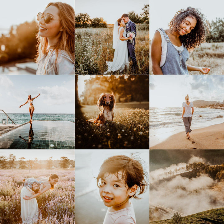 PRO GOLDEN HOUR  | RAW preset by Maxine Stevens
