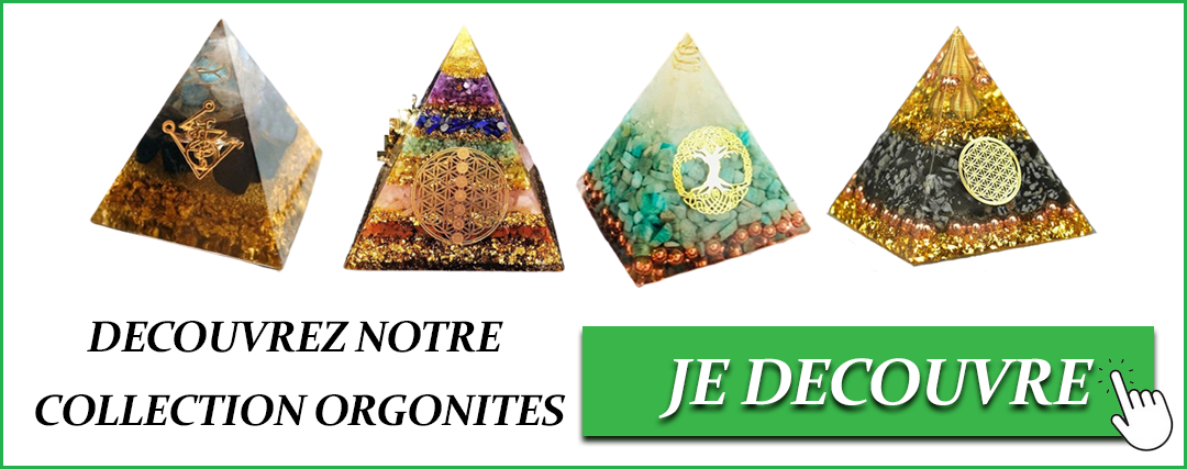 collection pyramide orgonite
