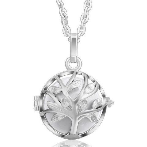 Collier Bola Grossesse Argent