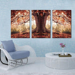 Tableau Arbre de Vie Marron Orange