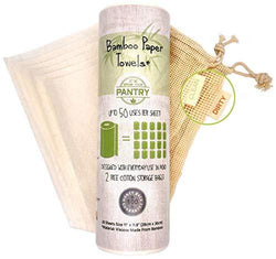 Bamboo Nordic organic reusable & washable paper towels