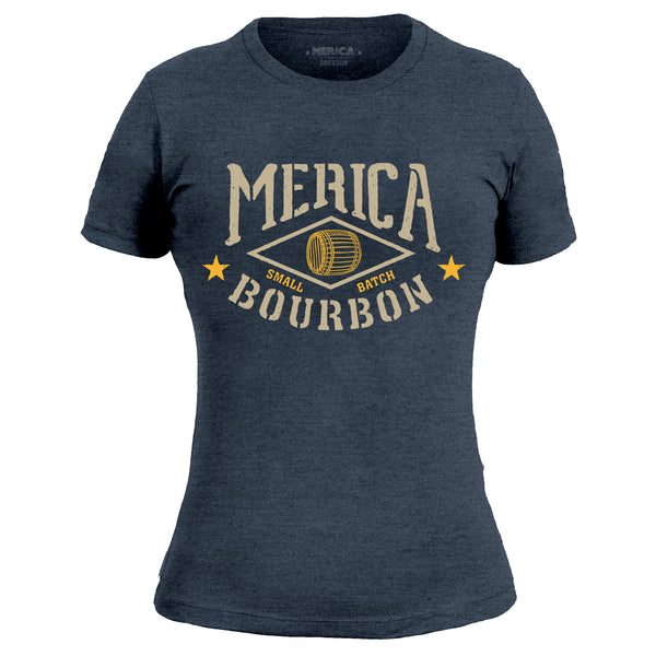 Merica Bourbon Barrel - Women's Tee