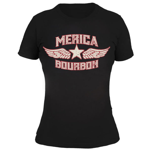 Merica Bourbon Wings - Women's Tee