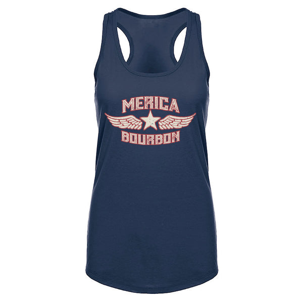 Merica Bourbon Wings - Women's Tank top