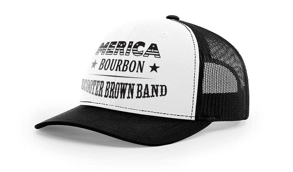 Merica Scooter Brown Band Hat - Unisex