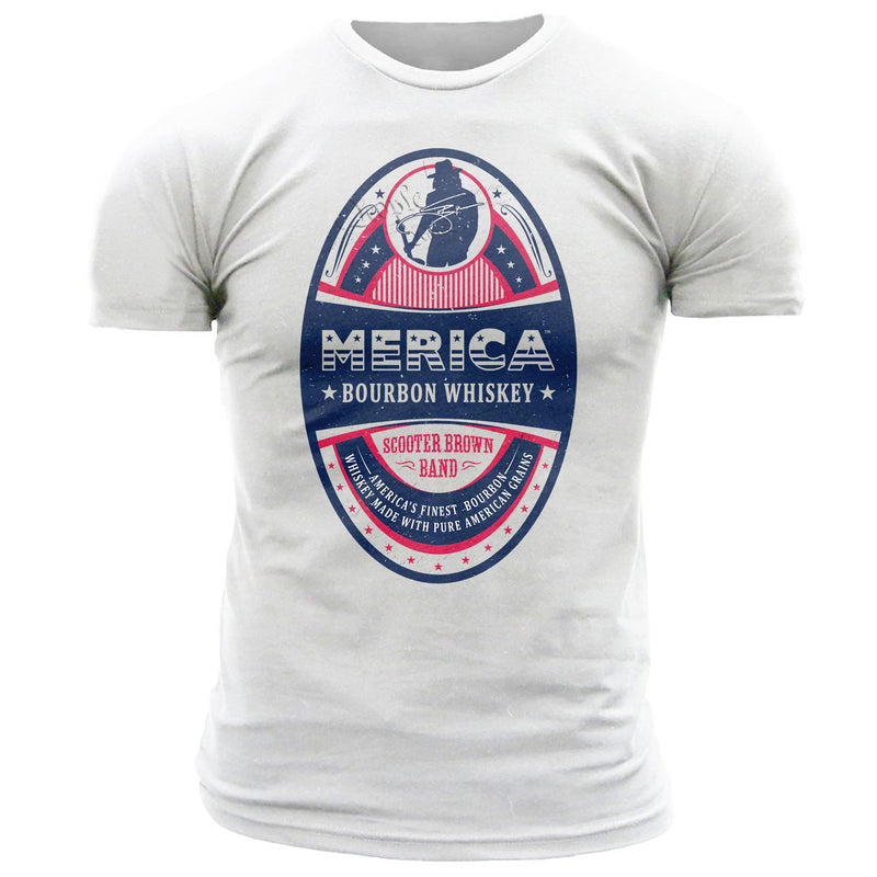 Merica Scooter Brown Band Signature Series - Men's Tee