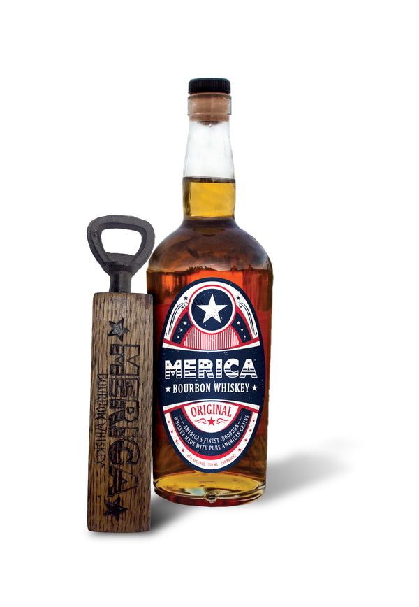 Merica Bourbon Handheld Bottle Opener