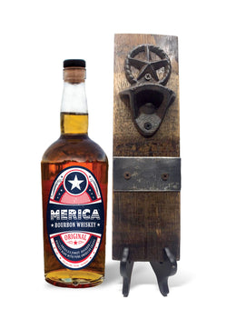 Merica Bourbon Star Bottle Opener