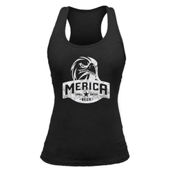 Merica Small Batch Beer Eagle - Women's Tank top