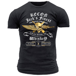 RECON Jack's Finest Whiskey - Men's Tee