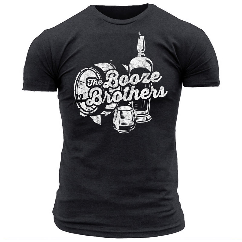 The Booze Brothers Logo - Men's Tee