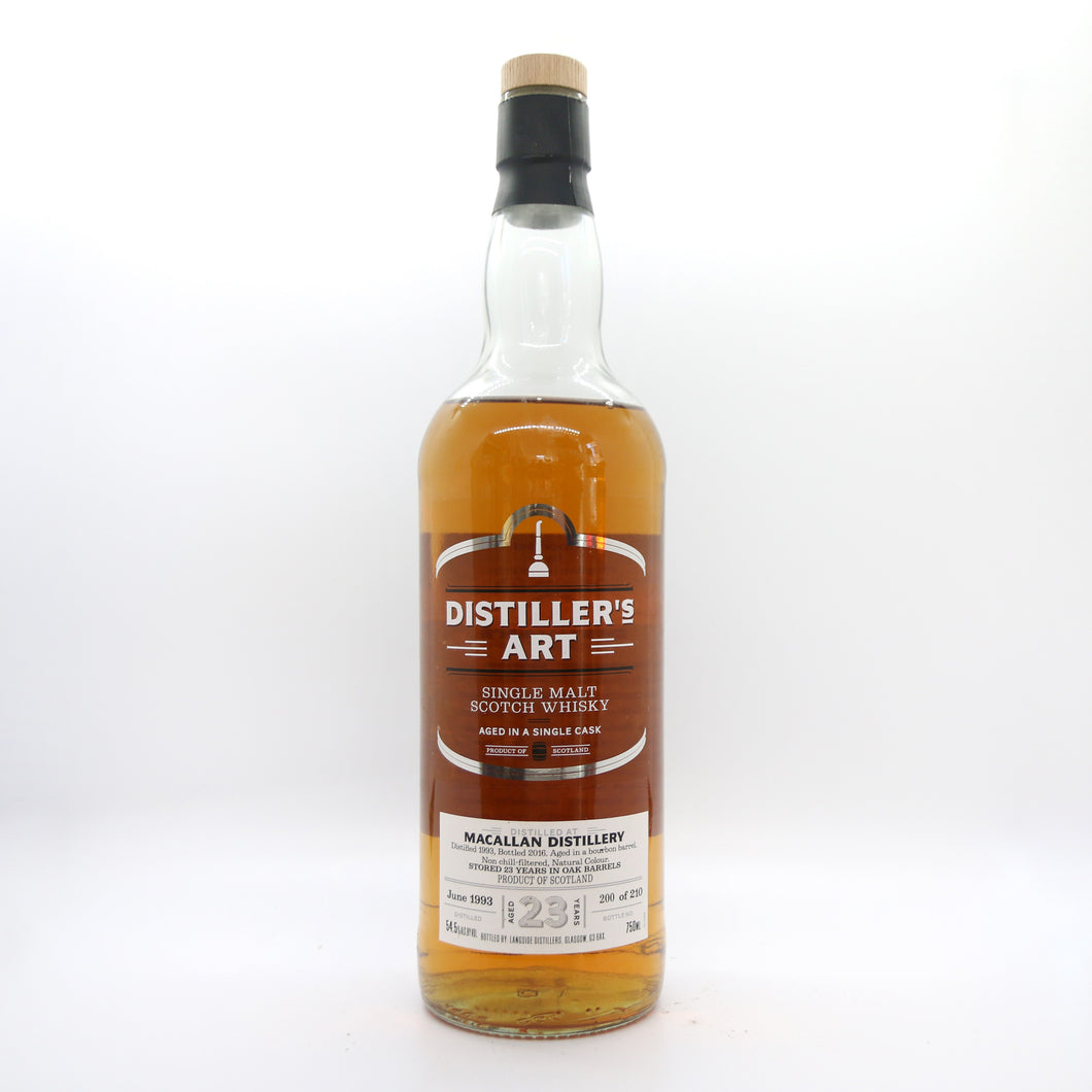Macallan 23 Year via Distiller's Art (4 oz)