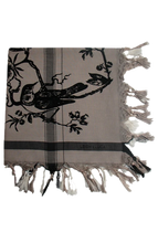 Load image into Gallery viewer, Birdtoile Ombre Dye - Fine Cotton Scarf
