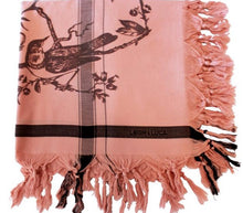 Load image into Gallery viewer, Birdtoile Blush - Fine Cotton Scarf