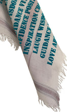 Load image into Gallery viewer, Affirmation Bandana Keychain Ocean - Cashmere Blend