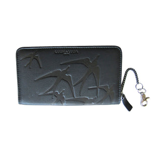 """LEIGH"" Wallet  Freedom Black"