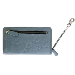 """LEIGH"" Wallet  Freedom Grey"