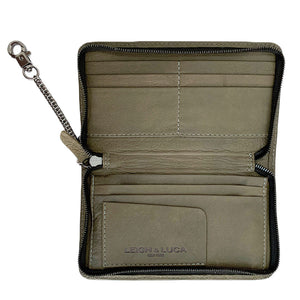 """LEIGH"" Wallet  Freedom Olive"