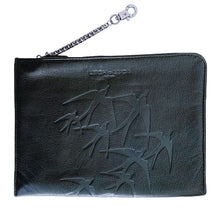 "Load image into Gallery viewer, ""Tristan"" IPad Case/Cosmetic Case Freedom Black"