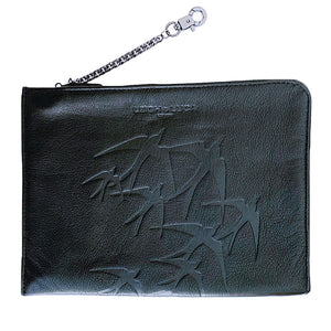 """Tristan"" IPad Case/Cosmetic Case Freedom Black"