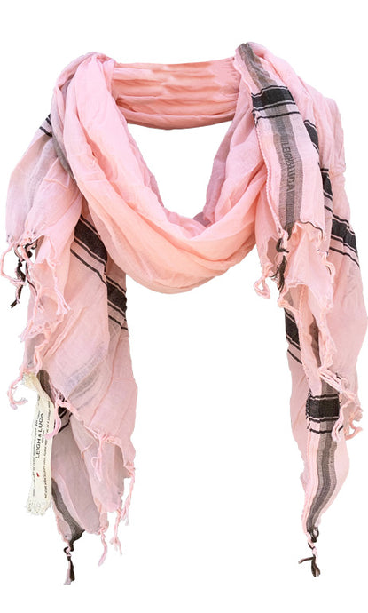 Soft Nude - Fine Cotton Voile Scarf