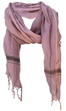 Load image into Gallery viewer, Soft Smoke - Fine Cotton Voile Scarf
