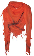 Load image into Gallery viewer, Bright Fire - Fine Cotton Voile Scarf