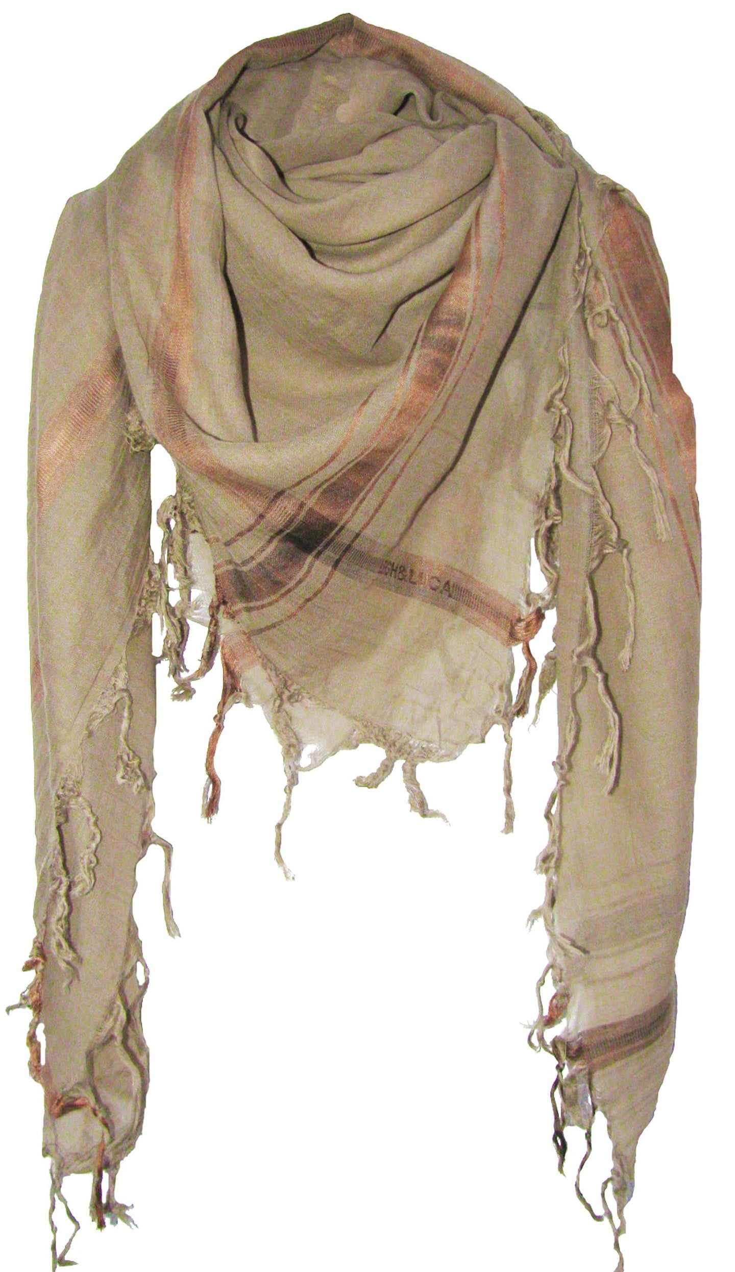 Soft Olive - Fine Cotton Voile Scarf