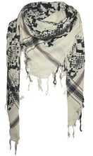 Load image into Gallery viewer, Snake Sea Foam - Fine Cotton Voile Scarf