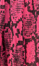 Load image into Gallery viewer, Snake Pink - Fine Cotton Voile Scarf