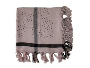Shadow Dots - Fine Cashmere Scarf
