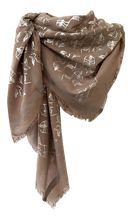Load image into Gallery viewer, Charleston Glamour -  Fine Silk Cotton Scarf