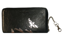 "Load image into Gallery viewer, ""LEIGH"" Wallet Shadow Birds Black"