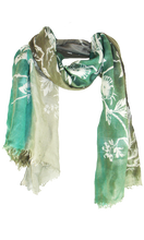 Load image into Gallery viewer, Birdtoile  Aquamarin - Cashmere Blend Scarf