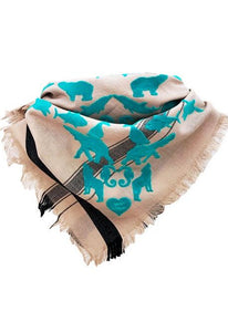 We LOVE  Bandana Ocean - Fine Cotton