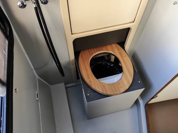 Compact Campervan Compost Toilet