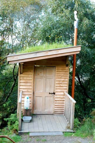 tree bog compost toilet