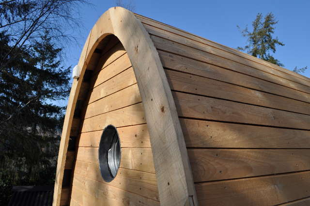composting toilet wooden
