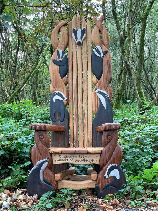 badger storytelling chair