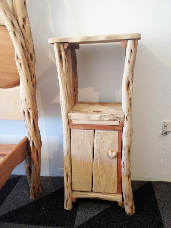 driftwood bed side cabinet