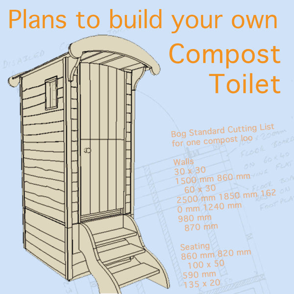 Plans to build a compost toilet