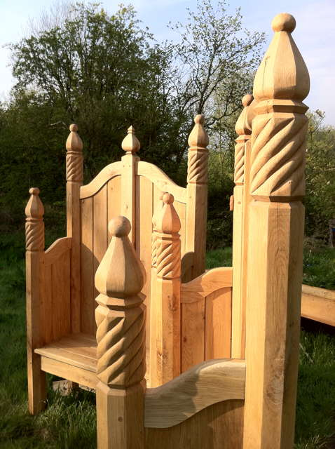 sculpted storytelling chairs