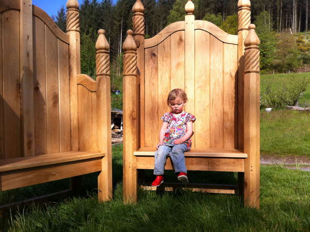 children storytelling chair