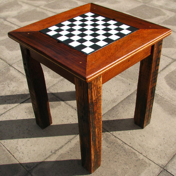 Chess and Backgammon Table