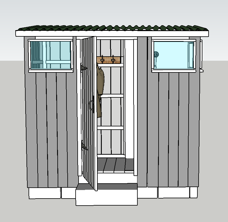 compost toilet and shower plans