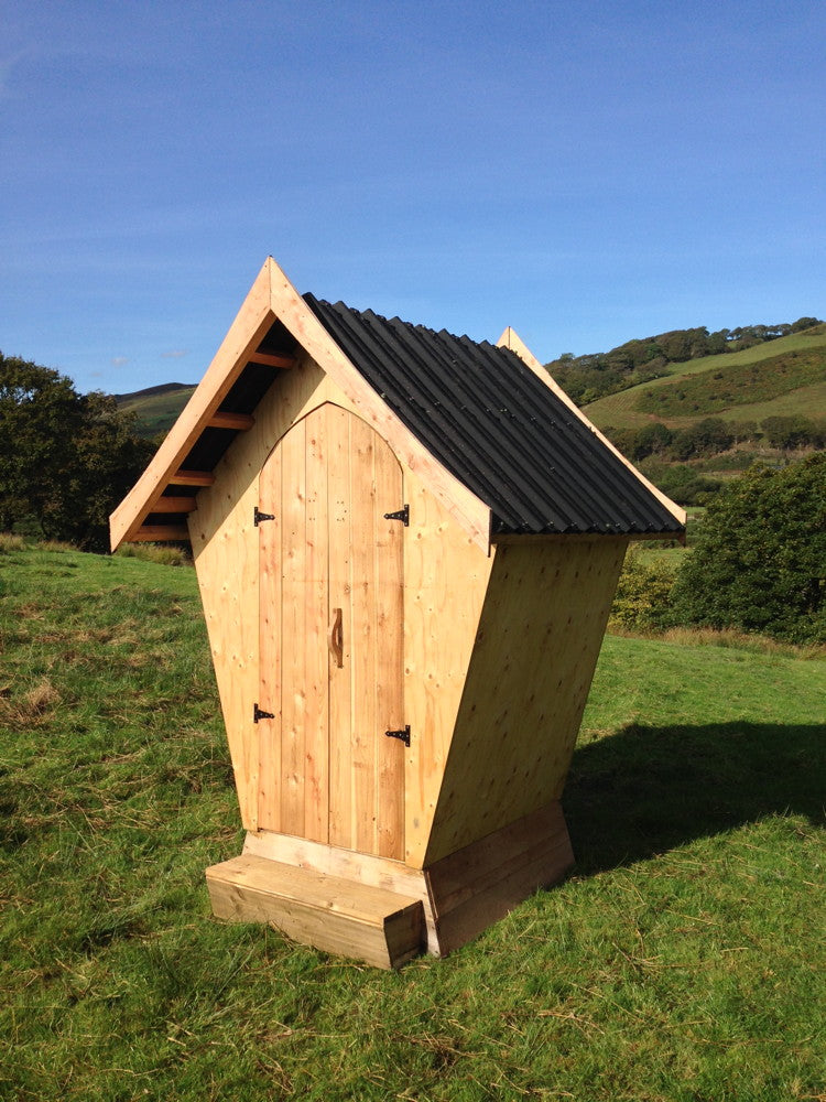 compost toilet for glampsite