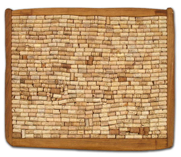 recycled wine cork board