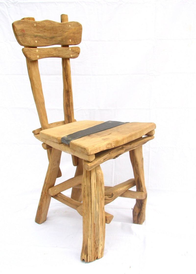 Rustic Oak Dining room Chair